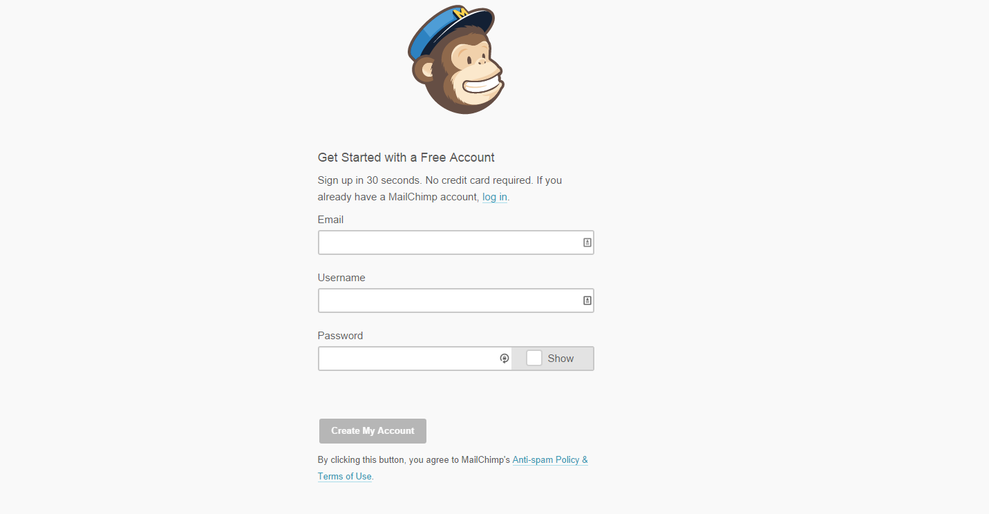 How To Set Up The Free Mail Chimp Newsletter Service