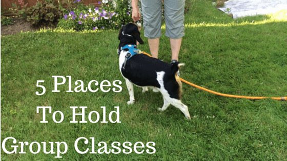 5 Places To Hold Group Classes