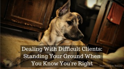 Dealing With Difficult Clients: Standing Your Ground When You Know You're Right