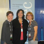 Veronica Boutelle, myself and Gina Phairas of Dogtec. They are really nice folks.