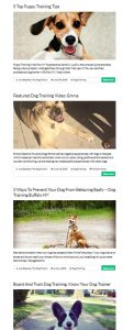 starting a blog for your dog training business