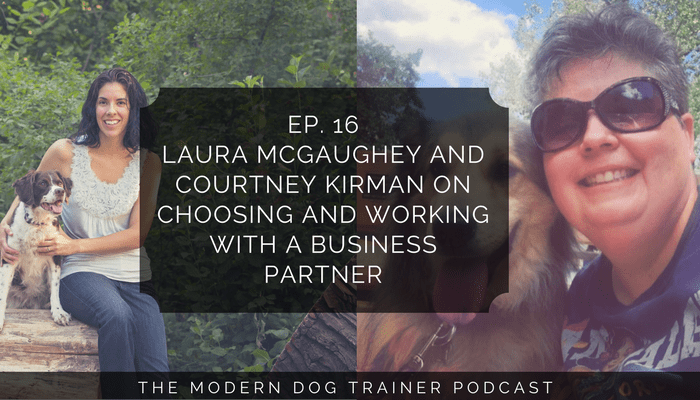 choosing a dog training business partner