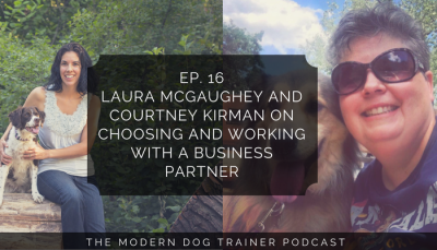Ep 16 – Laura McGaughey and Courtney Kirman on Choosing and Working With a Business Partner