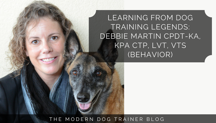 Learning From Dog Training Legends: Debbie Martin