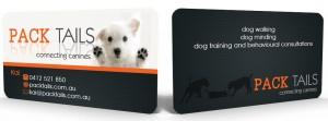 Creative dog training business card ideas the modern dog trainer design crowd colourmoves